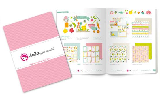 Catálogo Scrapbooking de Anita y su Mundo