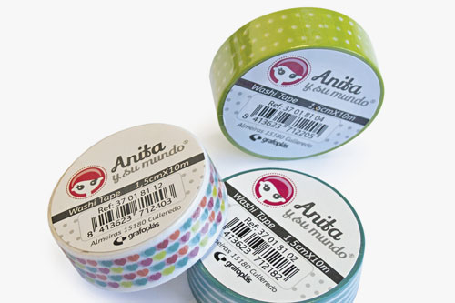 washi tapes Anita y su mundo