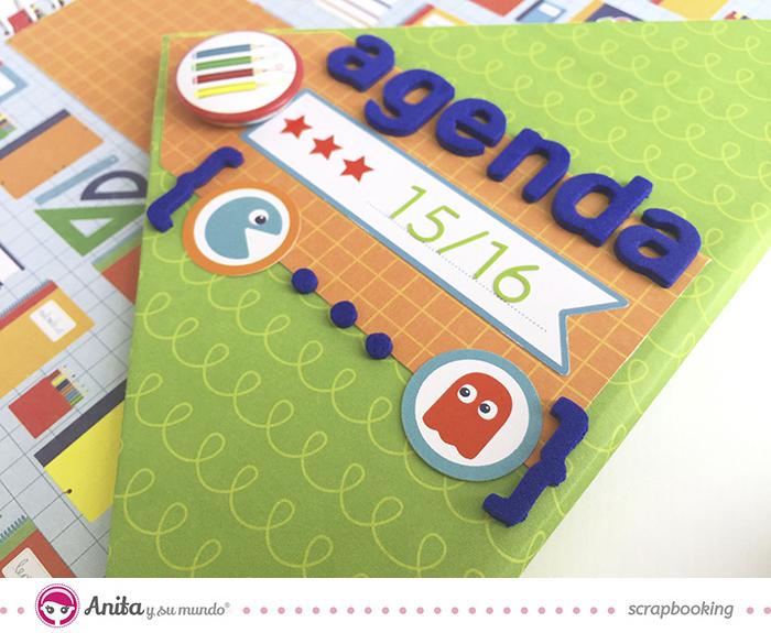 agenda escolar personalizada 12