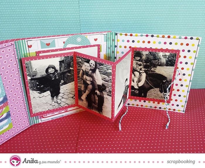 Etiquetas y tarjetas c mo utilizarlas en un mini lbum - Como hacer un album scrapbook ...