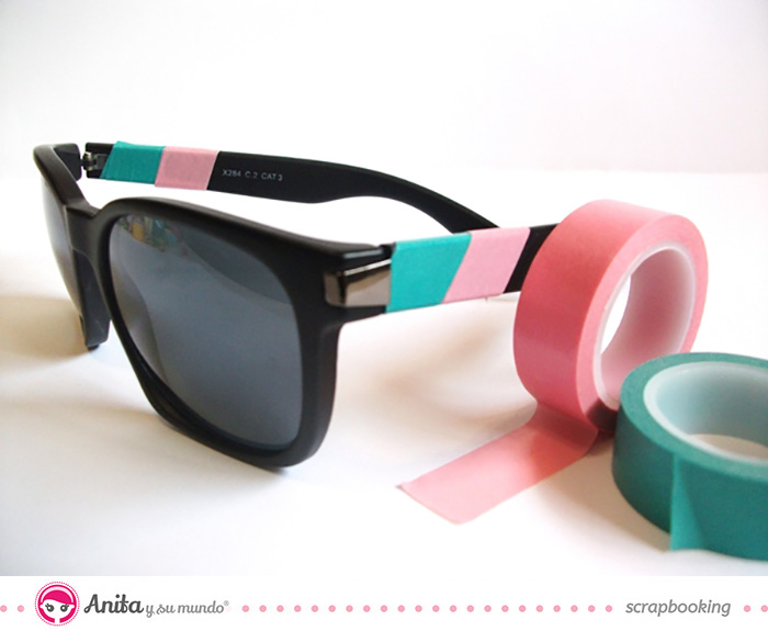 Washi tape ideas: gafas