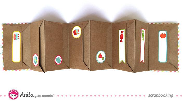 DIY: tarjetero con cartulinas y papel paso a paso