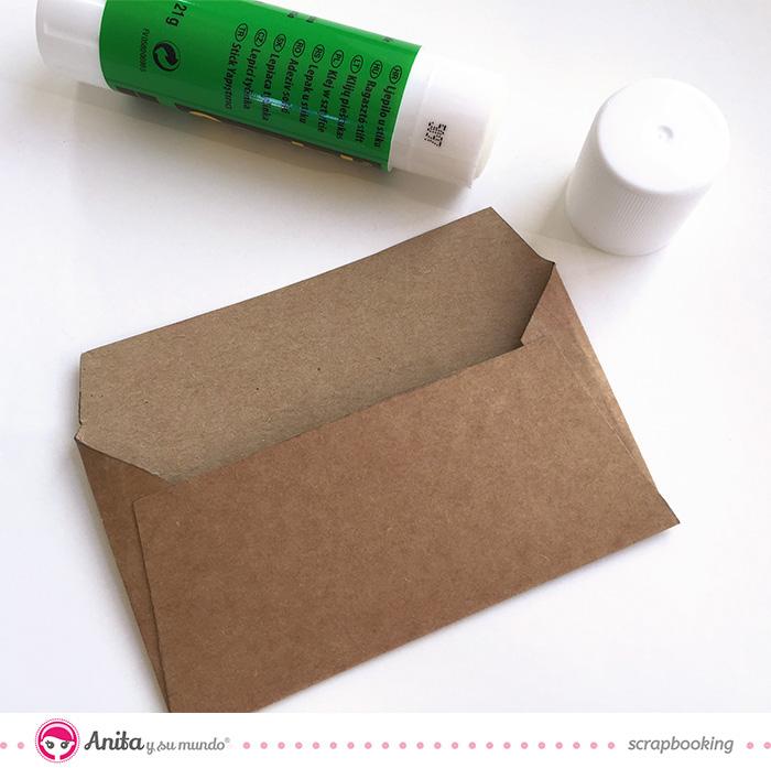 Como hacer un tarjetero - Paso 3.2