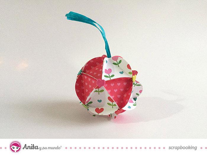 Como decorar una bola de navidad elegant como hacer - Como decorar una bola de navidad ...