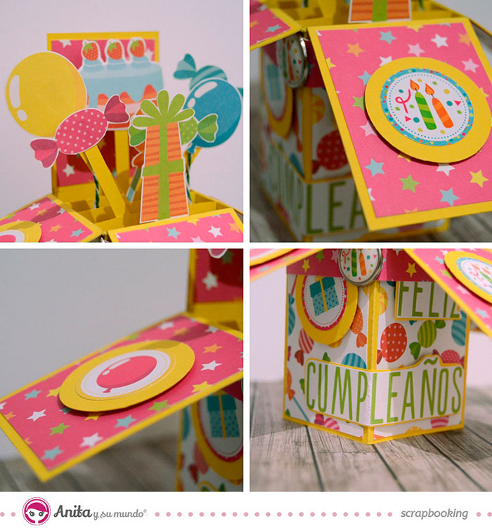 Decoracion pop up card