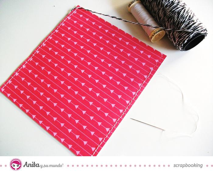 Las 10 técnicas más utilizadas en scrapbooking: costura