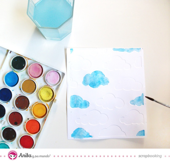 Las 10 técnicas más utilizadas en scrapbooking: pintura