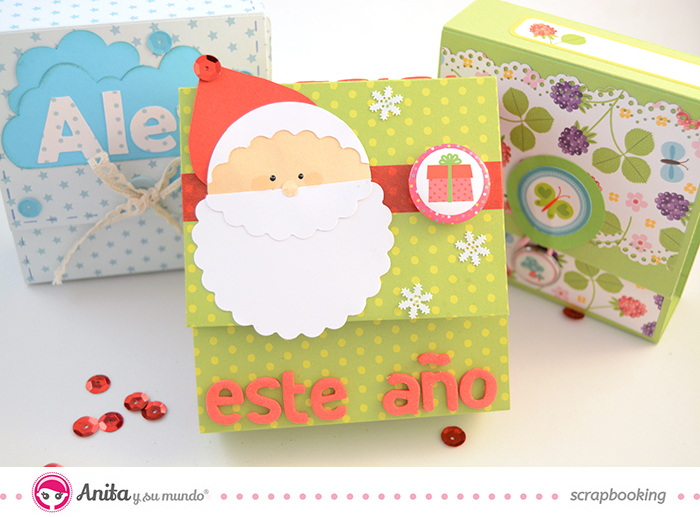 Tutorial Anita y su mundo: mini álbum scrap con fuelle