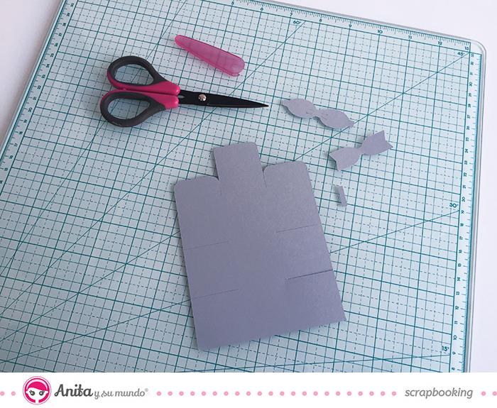 Cómo decorar tus luces de Navidad con papel scrapbook