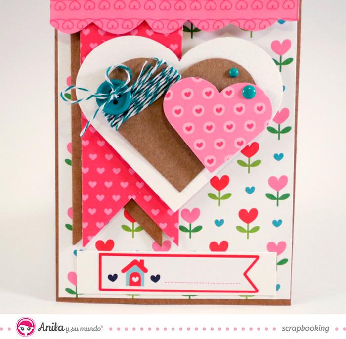 10 ejemplos de tarjetas de amor hechas a mano y originales - Album para san valentin ...