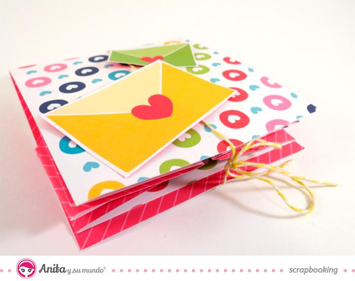 Anita y su mundo: Tarjeta San Valentín sorpresa-5
