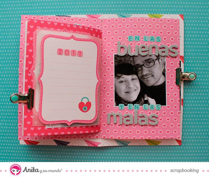 Papeles scrapbook de la colección Con Amor Anita y su mundo