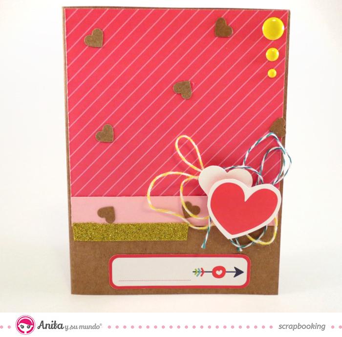 Anita y su mundo: Tarjetas de San Valentín