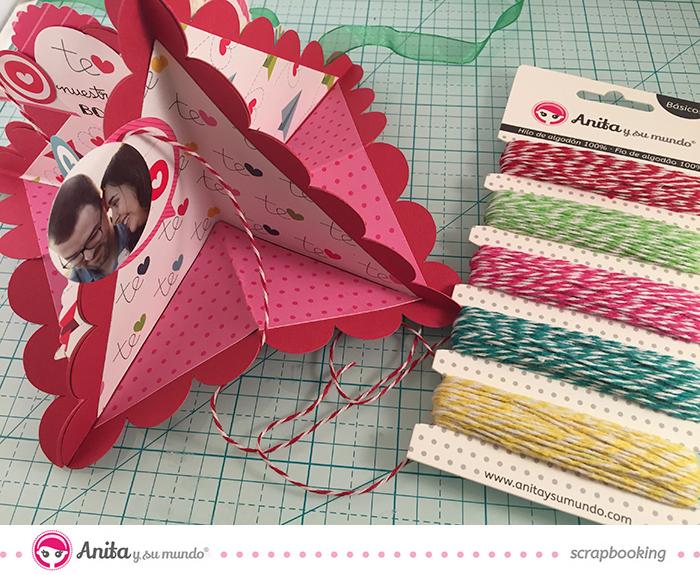 Tutorial: decoración tarjeta San Valentín 2