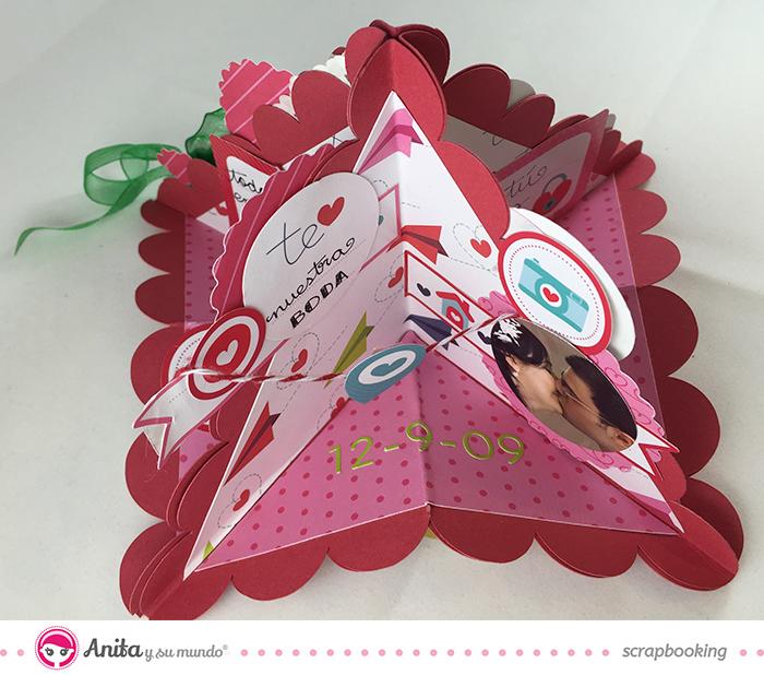 valentine exploding card