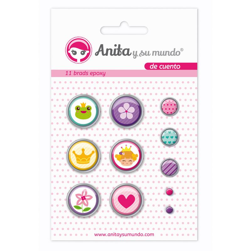 """Brads de la colección de Anita y su mundo 2016 """"de cuento"""""""