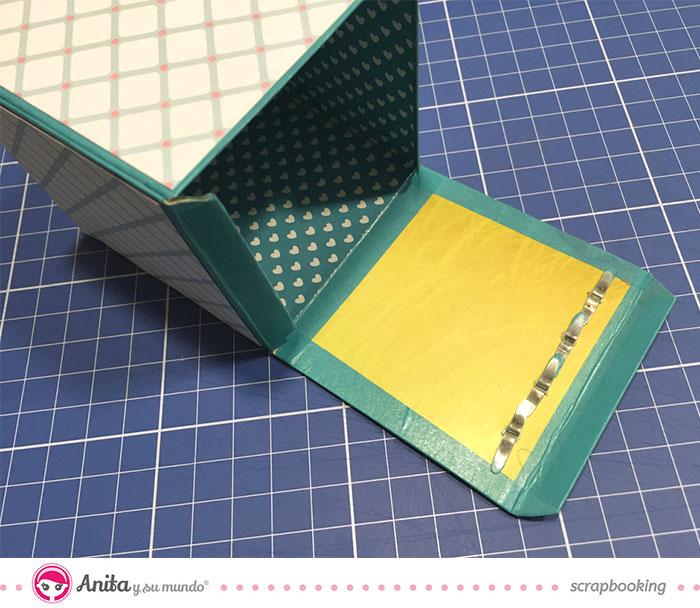 Idea scrap mini album cocina