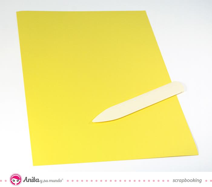tutorial origami: tarjeta camisa paso 1