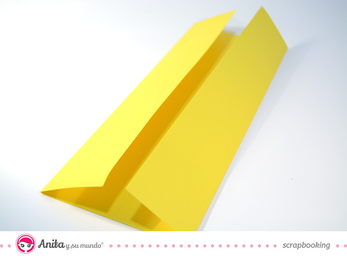 tutorial origami: tarjeta camisa paso 3