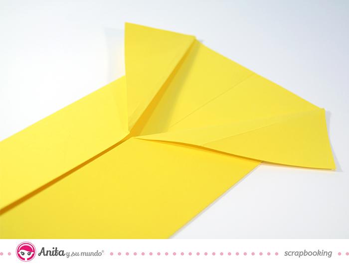 tutorial origami: tarjeta camisa paso 4