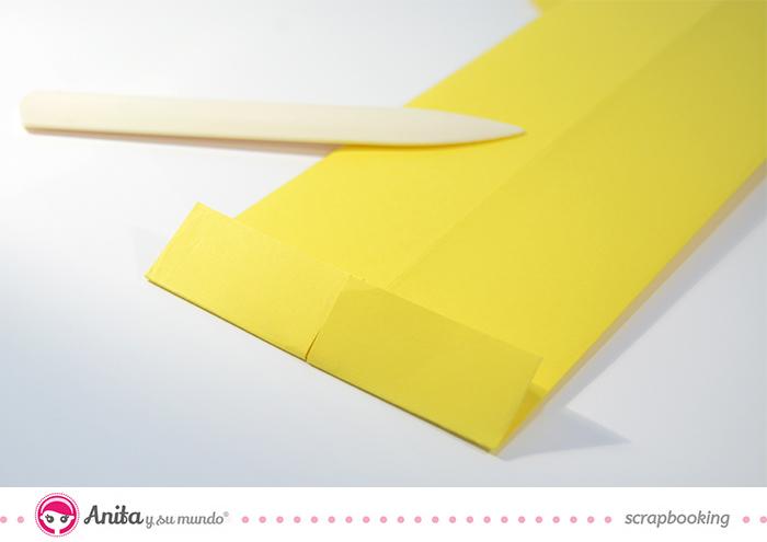 tutorial origami: tarjeta camisa paso 5