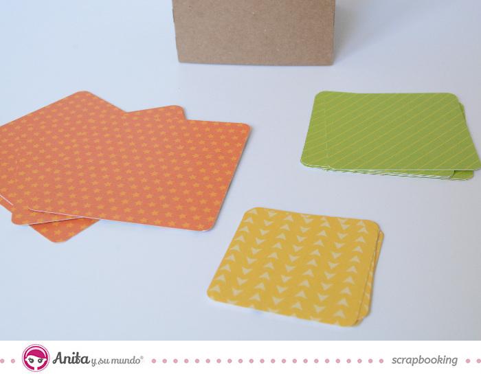 cómo hacer cubos con papel o cartulina 2