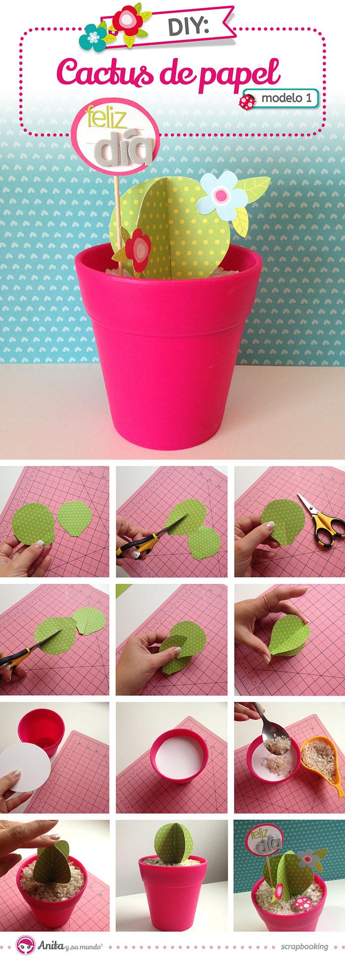 flores-de-papel-faciles-cactus-de-papel