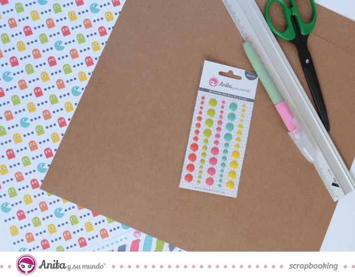 Productos de scrapbooking de Anita y su mundo