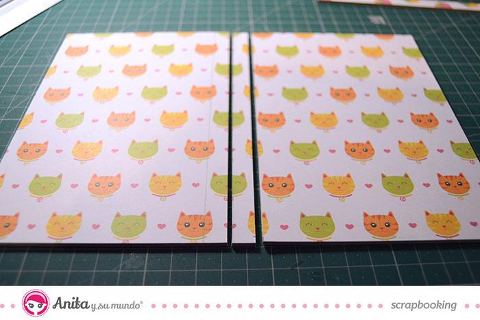 manualidades porta documentos mascotas paso 3