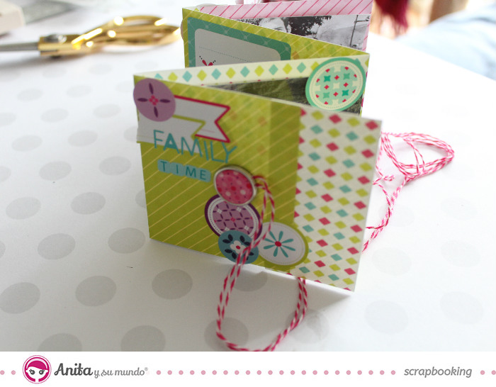 mini album Anita y su mundo scrap
