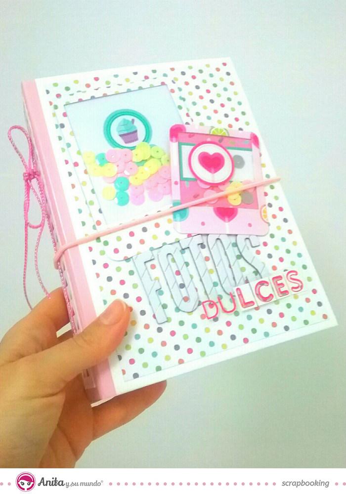 mini álbum colección mis chuches anita