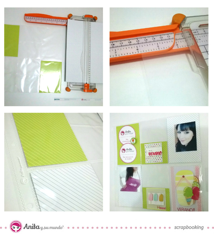 decorar-una-pagina-scrapbook