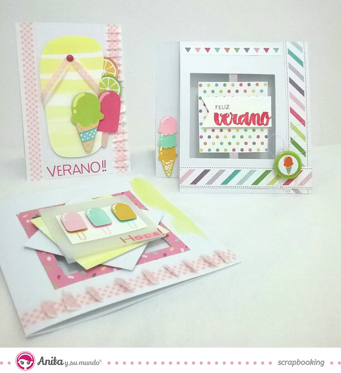 3 ideas para decorar tarjetas scrapbook anita y su mundo