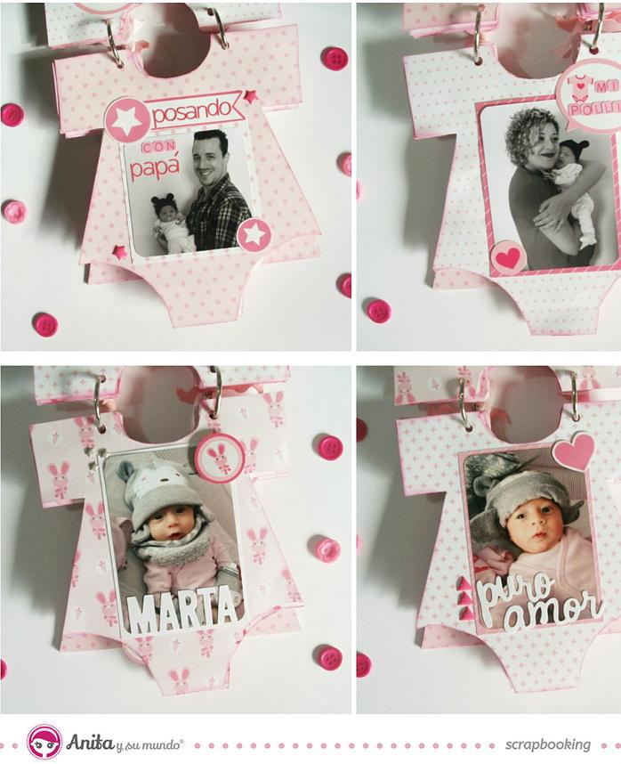 minialbum-scrapbooking-bebe-nina