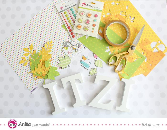 Letras para decorar personalizadas paso a paso anita y su mundo scrap - Letras decoradas scrap ...