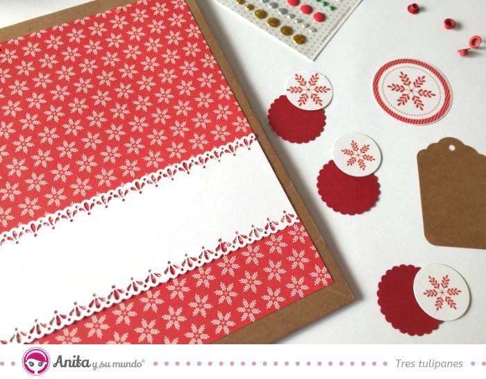 5 ideas para hacer bolsas de papel para regalos navide as - Papeles de vinilo para pared ...