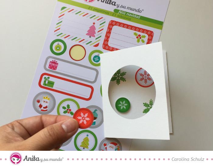 4 Ideas De Tarjetas De Navidad Originales Anita Y Su Mundo - Tarjeta-de-navidad-original