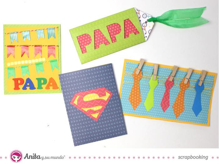 ✂️ 4 tarjetas del Día del Padre Fáciles y Rápidas de hacer