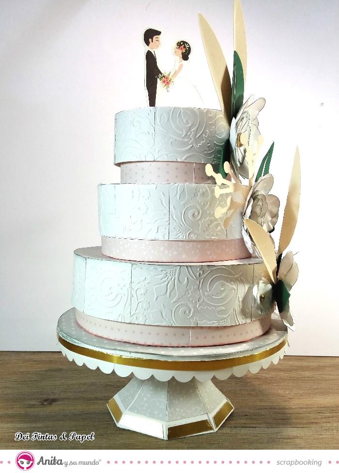 tarta-de-boda-de-papel-anita-y-su-mundo
