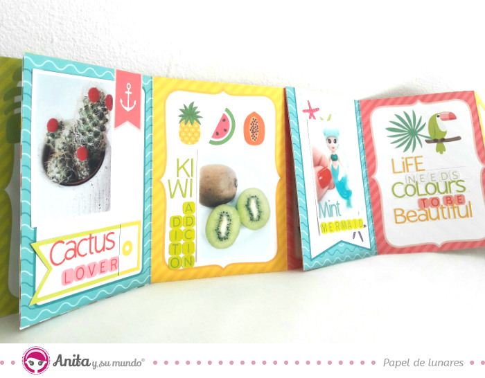 album-scrapbook-cascada-con-tarjetas