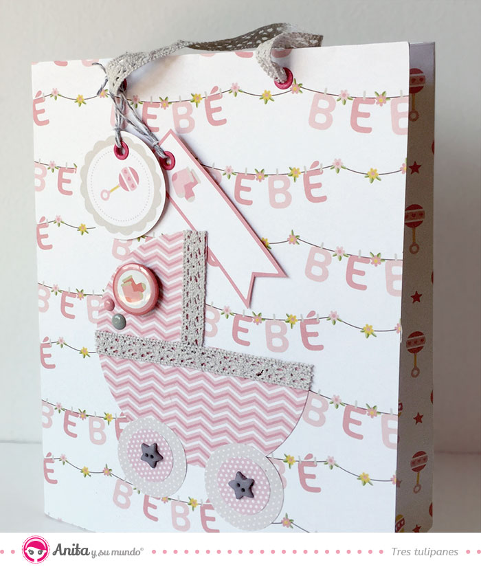Bolsa de regalo para bebé