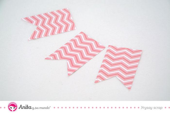 hacer banderines de papel DIY Cmo Hacer Un Cuadro Beb Nia En 10 Pasos Anita Y Su