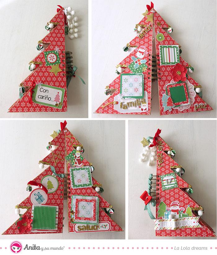 estructura álbum de navidad