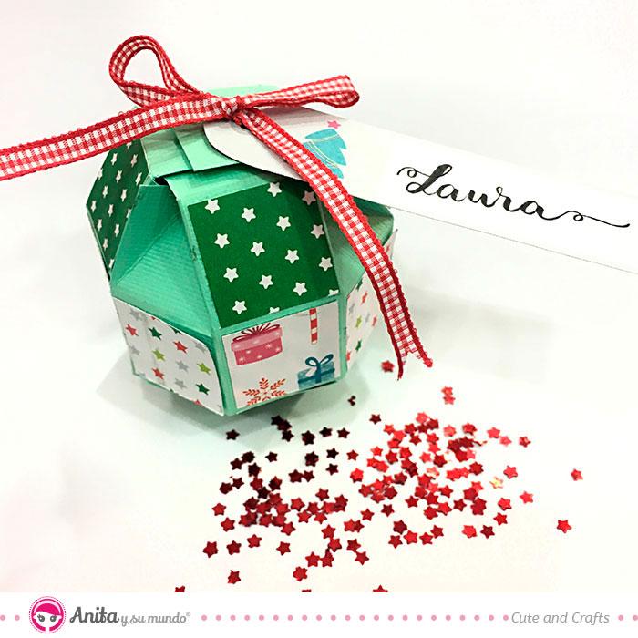 Paquete sorpresa marca sitios navidad