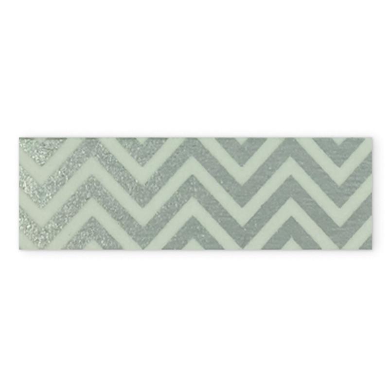 Washi tape zigzag plata Básicos – Ref. 37 01 82 06