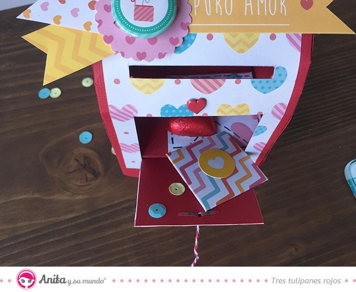 caja de regalo día amor chuches