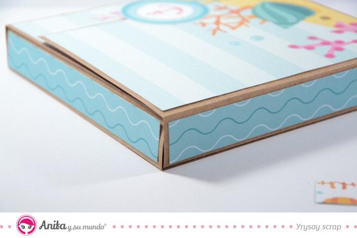 forrar laterales de un flip box