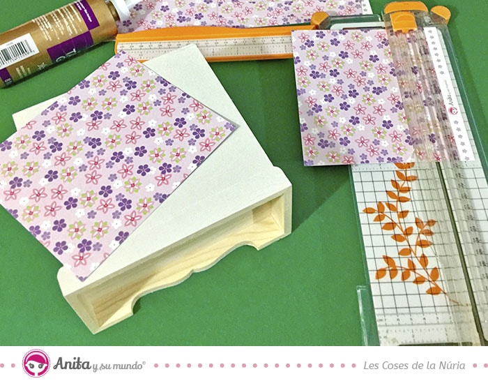 papeles estampados para proyecto home decor