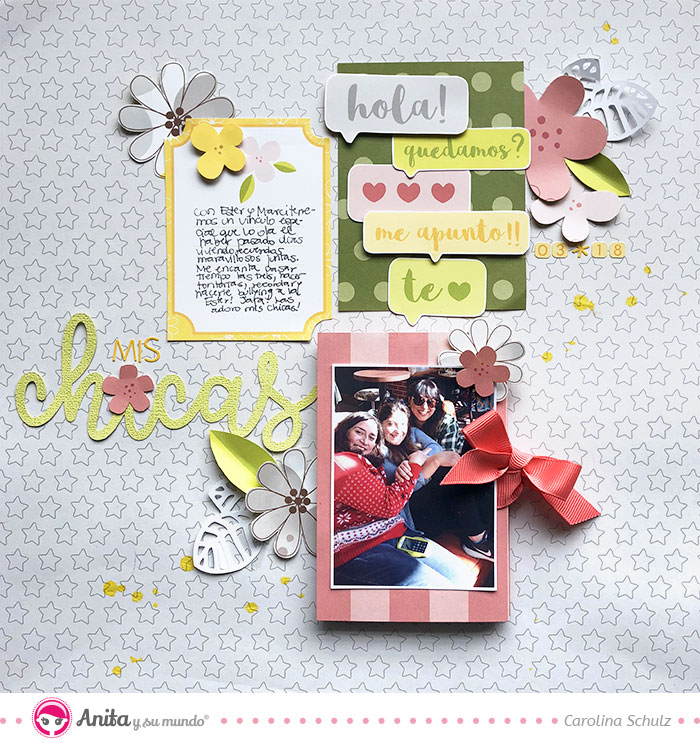proyecto scrapbooking 2 en 1: layout con mini album