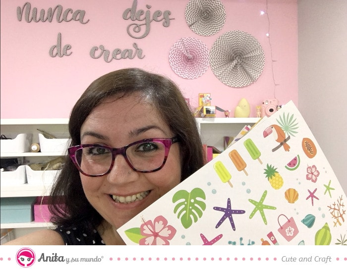 Entrevistas a scraperas: cute and crafts DT de Anita y su mundo